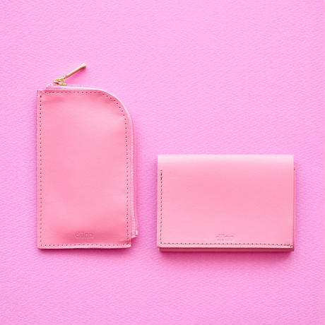 dunn coin & cardcase DCC06 チェリーピンク