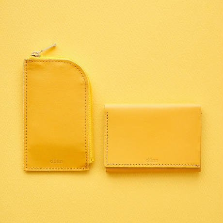 dunn 3wings wallet  DTW05 イエロー