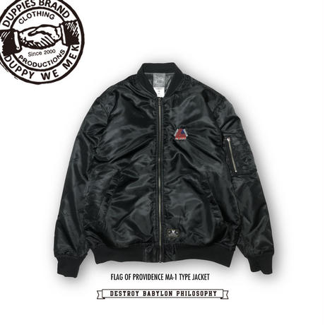 Flag Of Providence / MA-1 Type Jacket