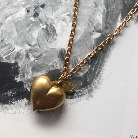 Bling bling heart necklace