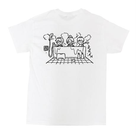 家のお風呂でさっパーTシャツ(ホワイト)