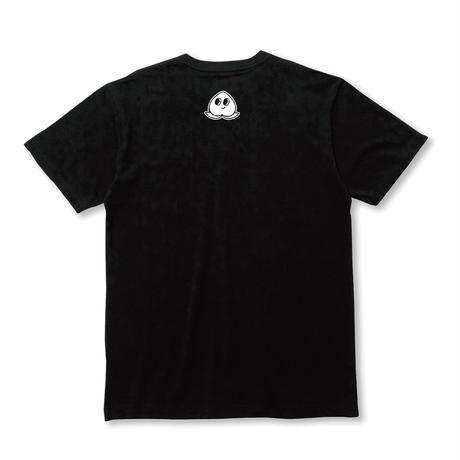 シンプルなロゴTシャツ(ブラック)