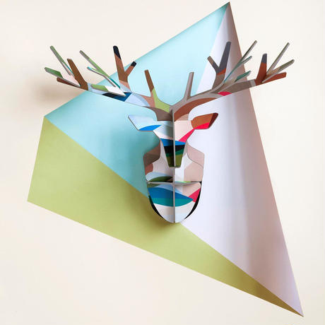TOTEM Enchanted Deer   Leaf - Studio ROOF