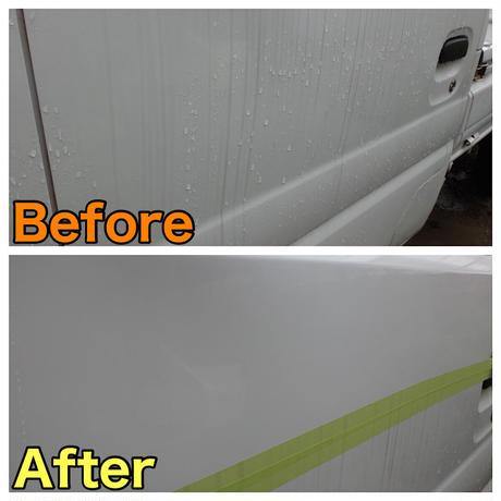 WAXメンテナンスクリーナー(ルッソグロス、KTCトップコートなど各種コーティングの下地処理剤・コート後のメンテナンスに、洗車で落ちない汚れの除去に、濯ぎ不用) 施工説明書付き