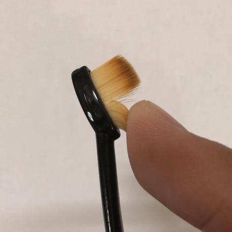 ディテイリングブラシ 毛幅細目 耐溶剤(酸性・アルカリ)