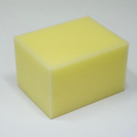 イエロースポンジ(手磨き用 初期研磨~仕上げ用) KTC+お試し量(約30ml)付き