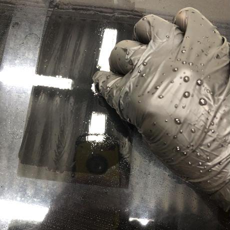 シリカスケール除去剤PRO(イオンデポジット・雨染み・スケール汚れ・ガラスのウロコ染み・黒ずみ汚れ・ブレーキダスト汚れ除去) 研磨・洗車参考書付き!