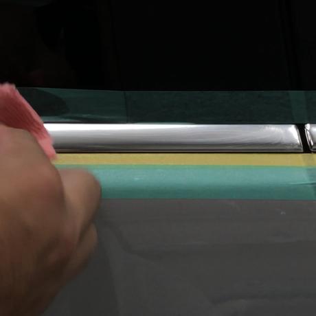 【金属モール磨きキット】輸入車のモール磨き