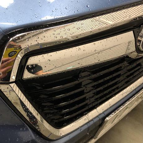 愛車フルコーティングセット(ルッソグロス・WAXメンテナンスクリーナー・KTCトップコート・脱脂シャンプー・クロス3セット) 取扱・洗車参考書付き