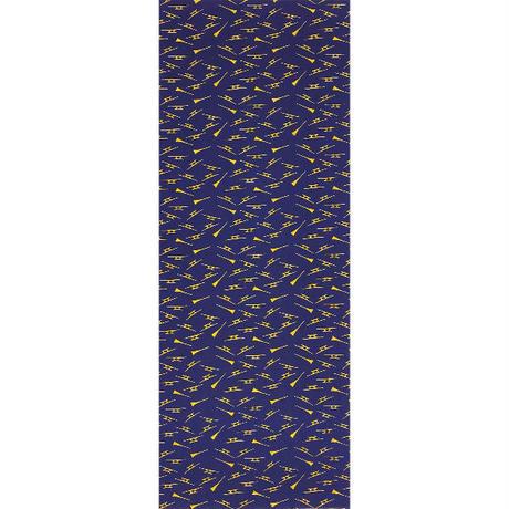 〔手拭壱本〕ちょっと長めの上等手ぬぐい プレミアム  撥に駒 柄(約34×約100㎝)