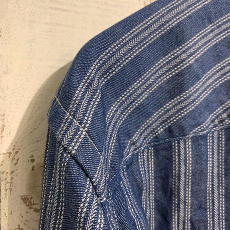 インディゴジャガードグランパシャツ KS2112581 / KATO'