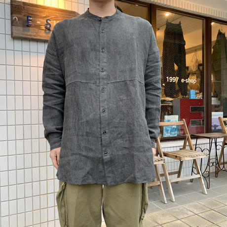 NEW FARMERS SHIRT(SLATE GRAY) / garment reproduction of workers