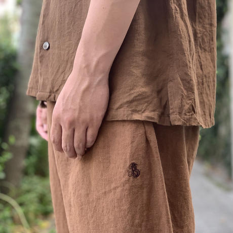 FOREST LINEN LOOSE PANTS BP004 / Bohemians