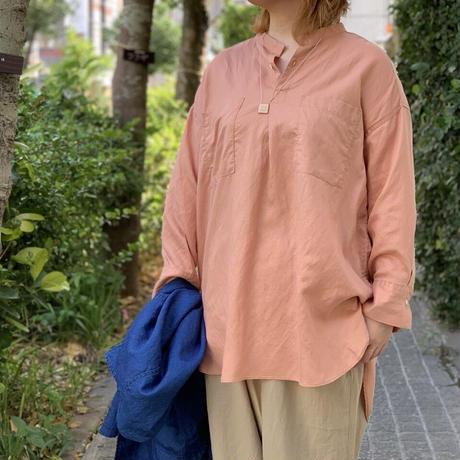 リヨセルリネンツイル グランパジャマシャツ 36-224T / Brocante