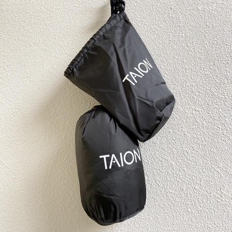 V NECK W-ZIP DOWN VEST  TAION-001Z / TAION