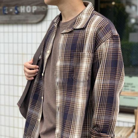 ヘビーネル開襟シャツ KS2032191 / KATO'
