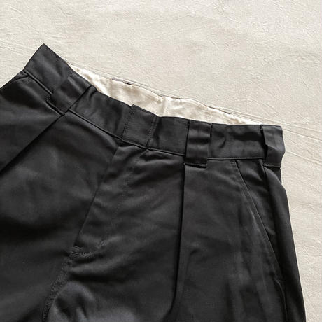 ONE TUCK TROUSERS CD-3C-BM-006 / COWDEN