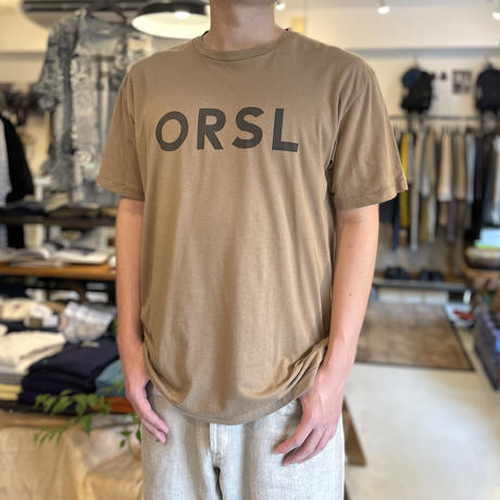 T-SHIRT ORSL PRINT 01-0018ORSL / orSlow