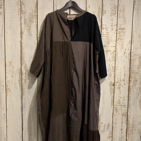 Washer Tweed One-piece(Brown) / Veritecoeur