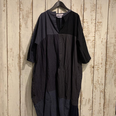 Washer Tweed One-piece(Black) / Veritecoeur