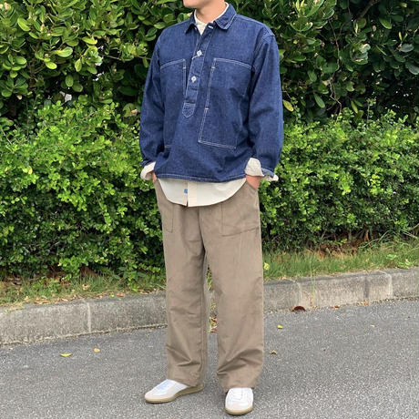 PW PULLOVER SHIRT JACKET 03-8041 / orSlow