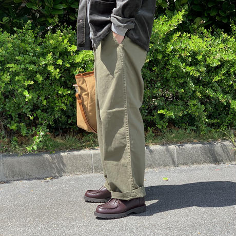 HERRINGBONE WIDE TROUSERS S20FPT13 / Sanca