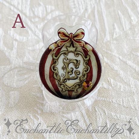 再販「ご予約承り中」 Dolled Up Ring (気球に乗って・・・)2色展開