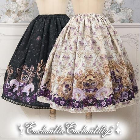 すみれ姫の王冠スカート(2色展開)