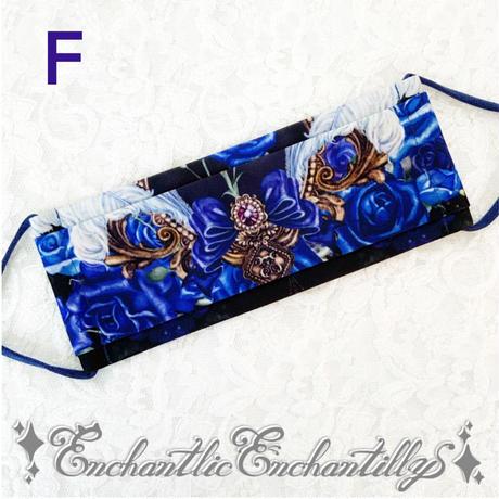 Enchantlic Enchantillyオリジナルテキスタイルプリントマスク