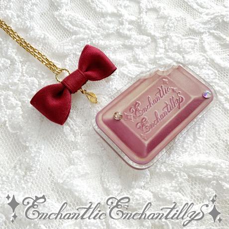 Enchantillyチョコレートネックレス(2色展開)