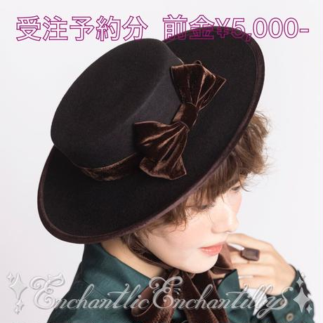 ★Dolled up Hat  受注予約分★(3色展開)