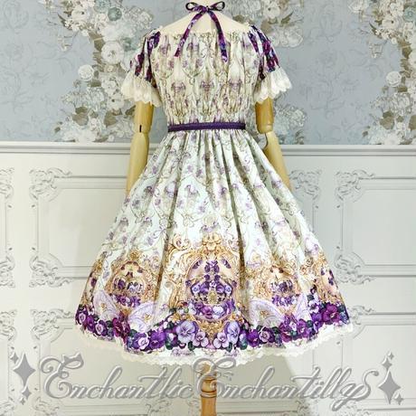 すみれ姫の王冠ワンピース(生成り)