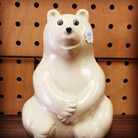フィンランド/Polar Bear Money BOX/白くまの貯金箱