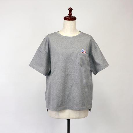 1903124 天竺BIG Tシャツ半袖(国旗スマイル)