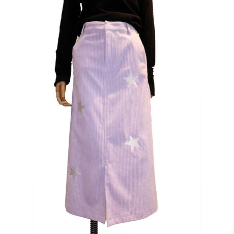 2007701 親子コール天ストレッチスカート