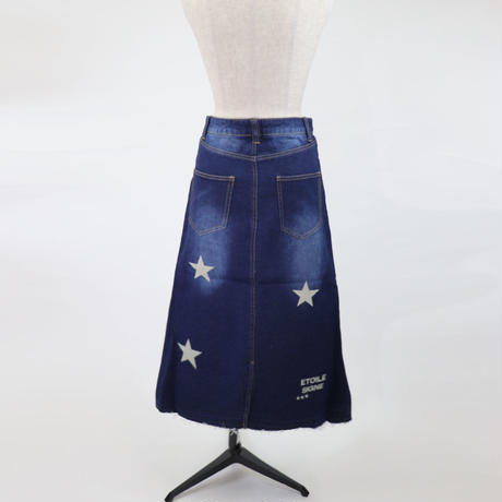 1810704 デニムロングスカート