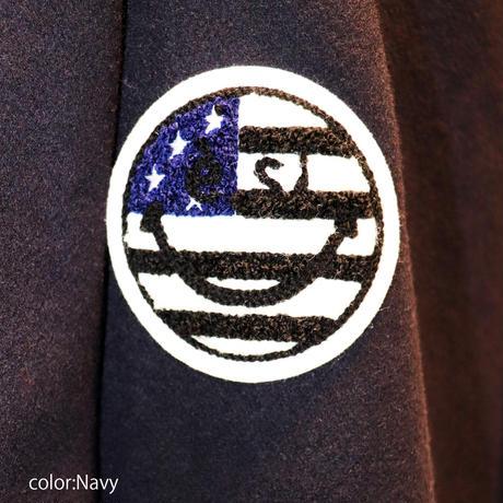 2007902    ウール刺繍ブレストチェスターコート