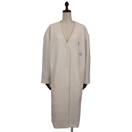 2011903 ボンディング衿なしコート