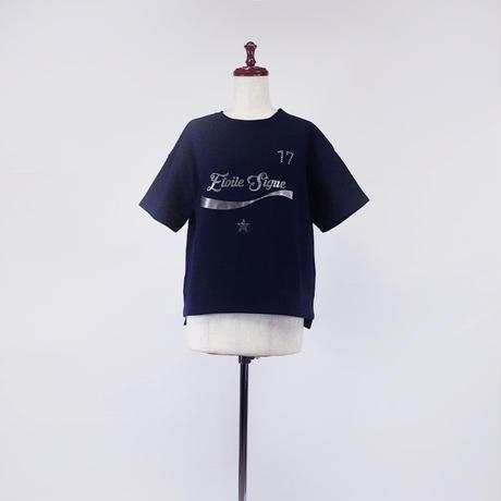 1901113 ミニ裏毛Tシャツ半袖