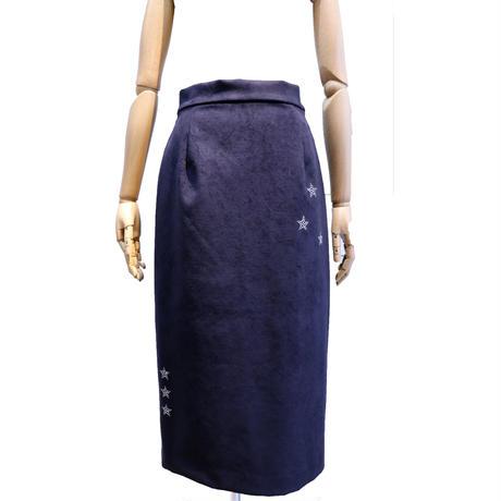 2003702    人工皮革スワロタイトスカート
