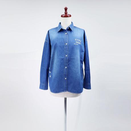 1810607 デニムビッグシャツ
