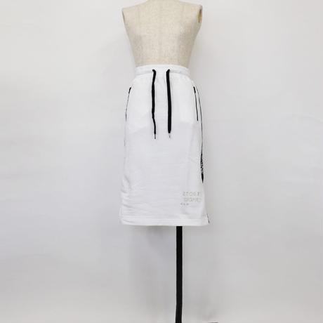 1810701 ミニ裏毛ロゴテープ付きスカート