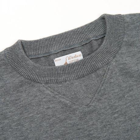 Cotton Sweater, Heather Grey