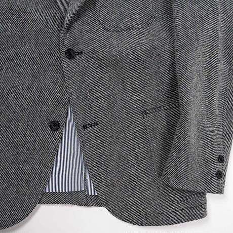 Maple Leaf Jacket, Wool Cotton Serge Grey