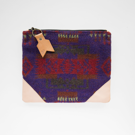 Me & Arrow | Vintage Fabric Clutch Bag