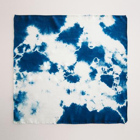 Lookout & Wonderland | Indigo Silk Scarf