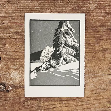 活版印刷カード | For Winter