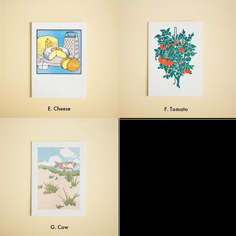 活版印刷カード | Variation