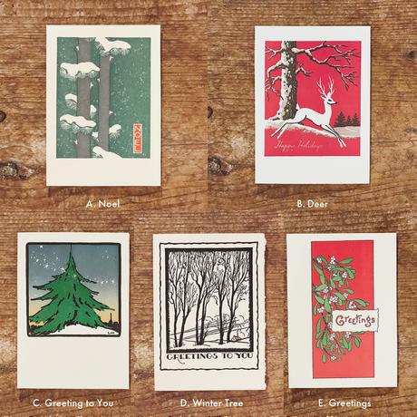 活版印刷カード | For X'mas