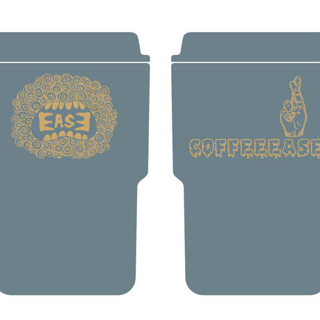 EASE TUMBLER (LEAD GRAY)